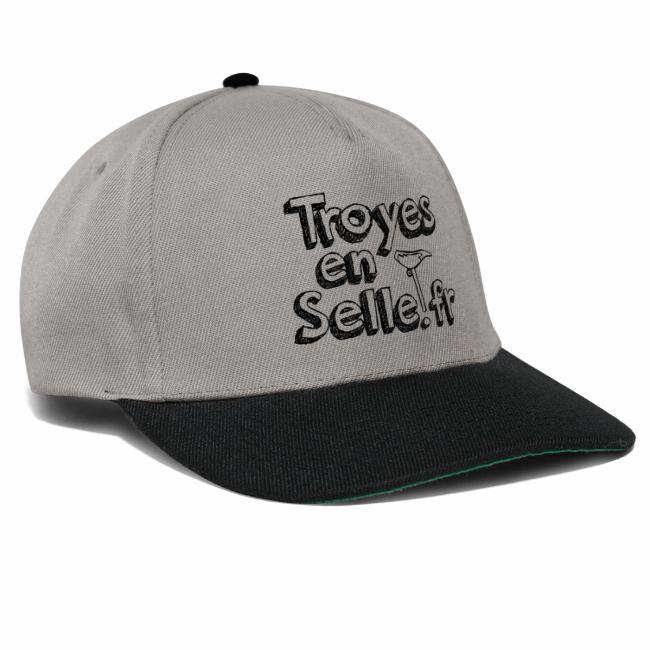 logo Troyes en Selle noir