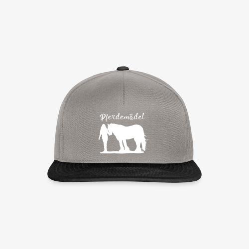 Pferdemädel - Snapback Cap