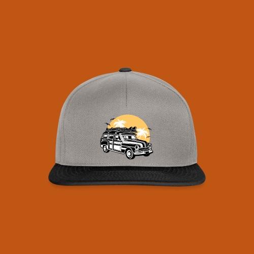 Chevy Cadilac Woodie / Oldtimer Kombi 01_3c - Snapback Cap