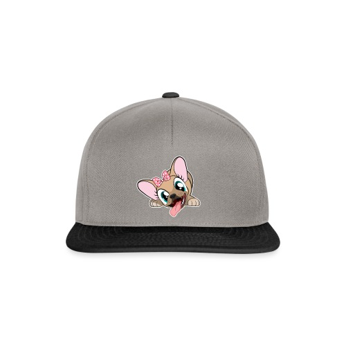 Be Happy with Naya Ze Frenchie - Casquette snapback