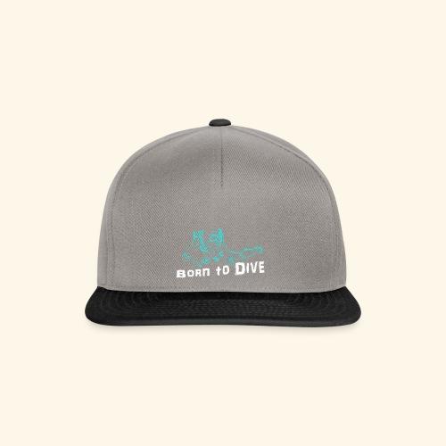 ScubaBornToDive001 - Snapback cap