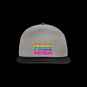 Pride Amsterdam in regenboog kleur en roze - Snapback cap