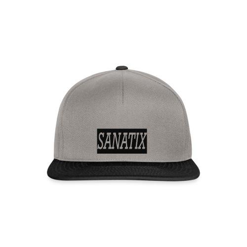Sanatix logo merch - Snapback Cap
