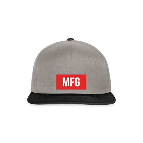 MFG on Youtube Logo - Snapback Cap