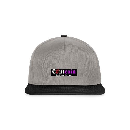 Cuntcoin header - Snapback Cap