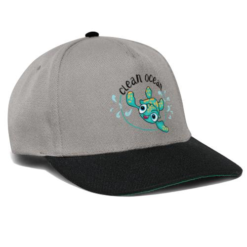 Clean Ocean - Snapback Cap