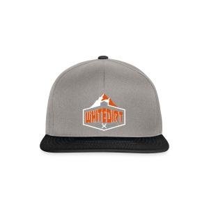 Whitedirt Eco Tee White / Orange - Snapback Cap