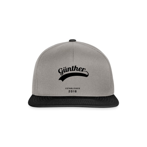 Günther Original - Snapback Cap