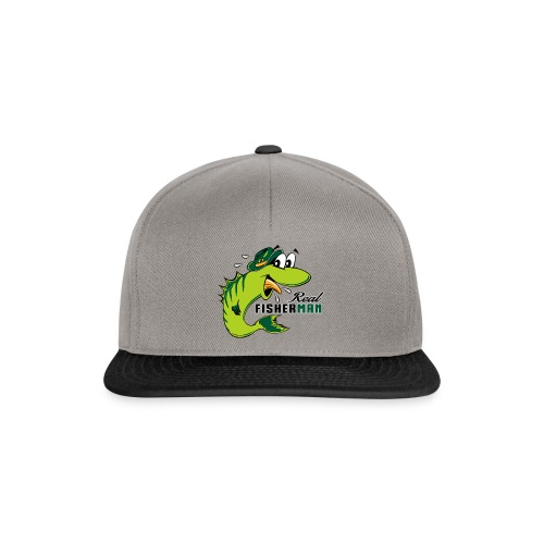 10-38 REAL FISHERMAN - TODELLINEN KALASTAJA - Snapback Cap