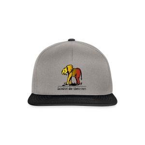 Schützt die Elefanten(-Kinder) - Snapback Cap