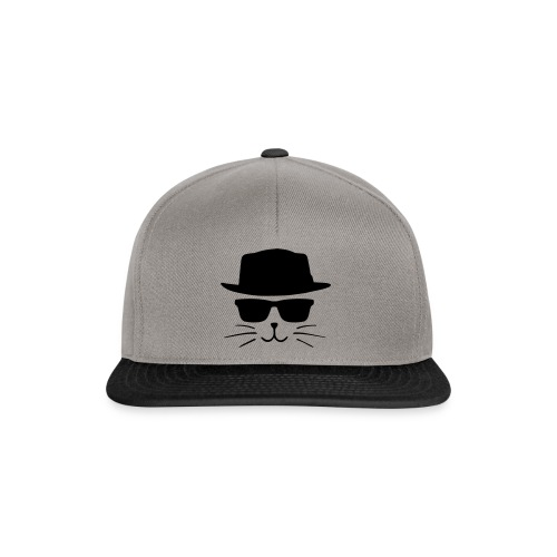Chat avec style - Casquette snapback