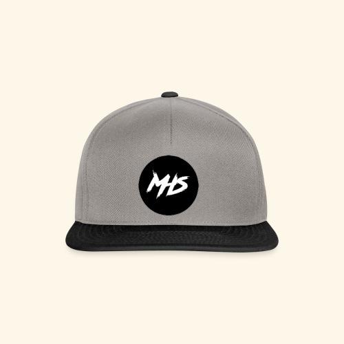 Watermerk - Zwart - Snapback cap