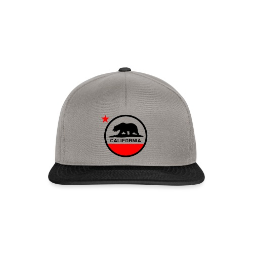 California Circle Flag - Snapback Cap