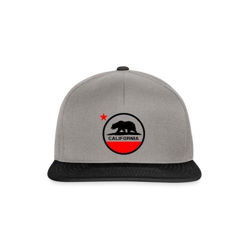 California Circle Flag - Snapback Cap