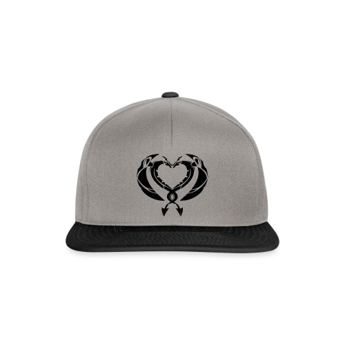 Dragons Coeur Love Dragons - Casquette snapback