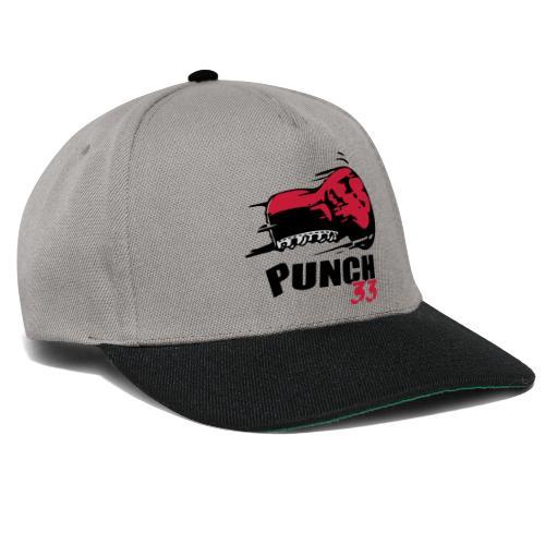 logo punch 33 - Casquette snapback