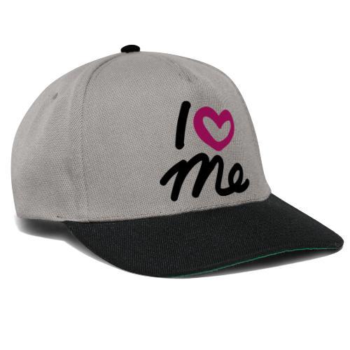 I love me. - Snapback Cap