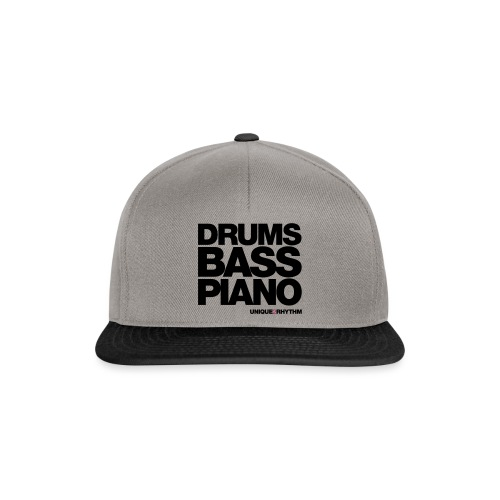 Drums Bass Piano - Snapback Cap