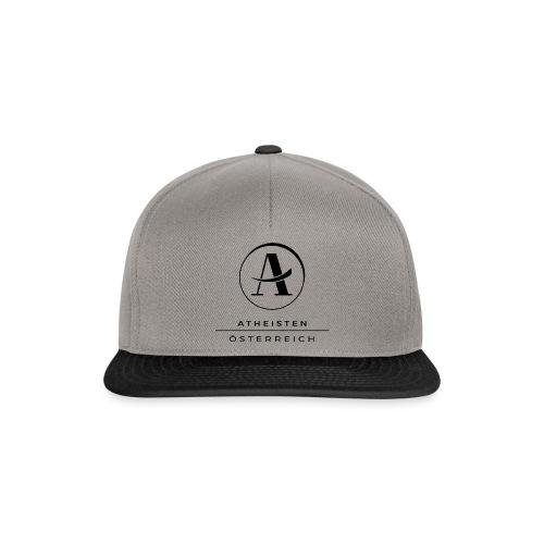 Atheisten Logo Schwarz - Snapback Cap
