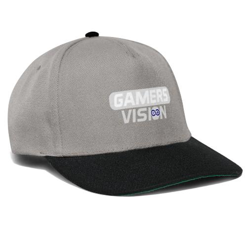 GamersVisionlogo Grijs - Snapback cap