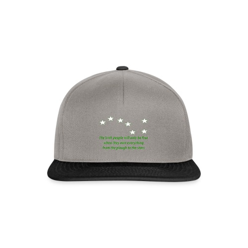 Starry Plough - Snapback Cap