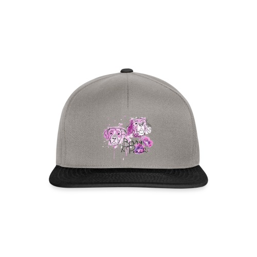 Berry and Peach - Snapback Cap