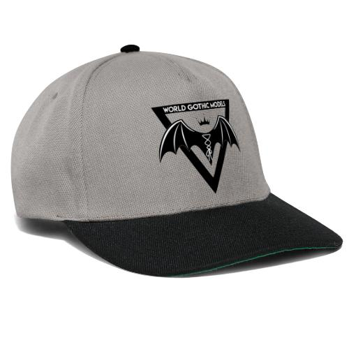 World Gothic Models Official Logo Design - Snapback Cap