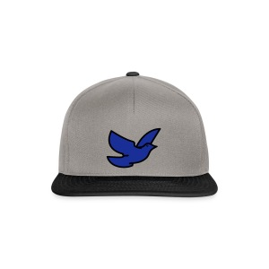 blue bird - Snapback Cap