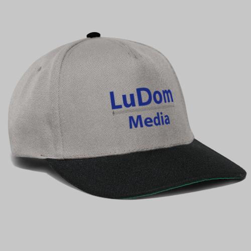 LuDom Media Merchandising - Logo - Snapback Cap