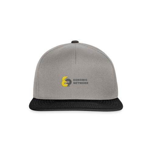 logoaufschrift_grau - Snapback Cap