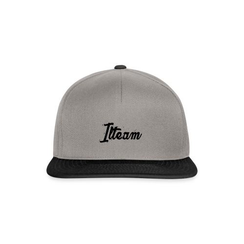 Ilteam Black and White - Casquette snapback