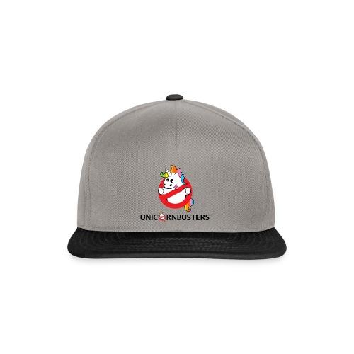 Unicorn Busters (Logo + Text) - Snapback Cap