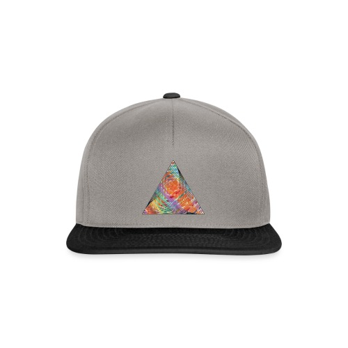 Triangle of twisted color - Snapback Cap