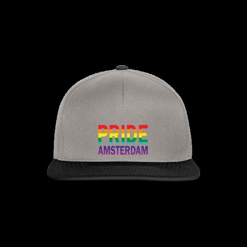 Pride Amsterdam in regenboog kleur - Snapback cap