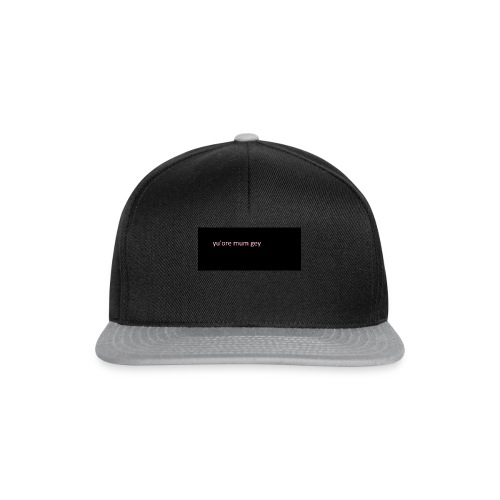 real meme merch - Snapback Cap