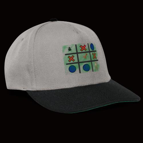 Tick, Tack, Toe (Joke Shirt) - Snapback Cap