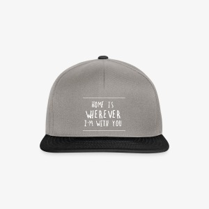 HOME IS YOU - Gorra Snapback