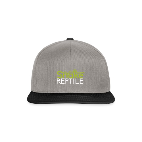 logo snake reptiles plus gros 02 1 png - Casquette snapback