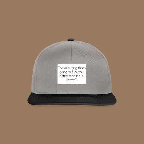 Fuck you - Snapback Cap