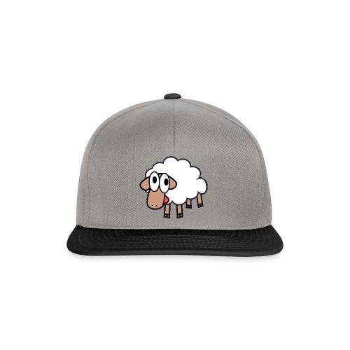 Sheep Cartoon - Snapback cap