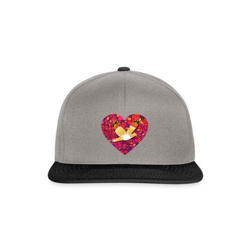 Make your heart fly with peace - Snapback Cap