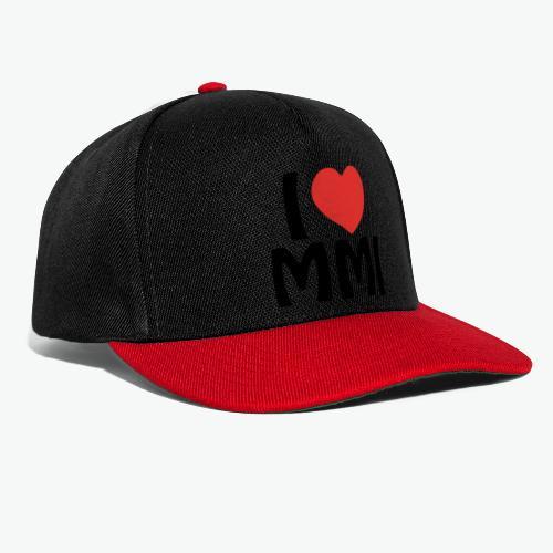 I love MMI - Casquette snapback