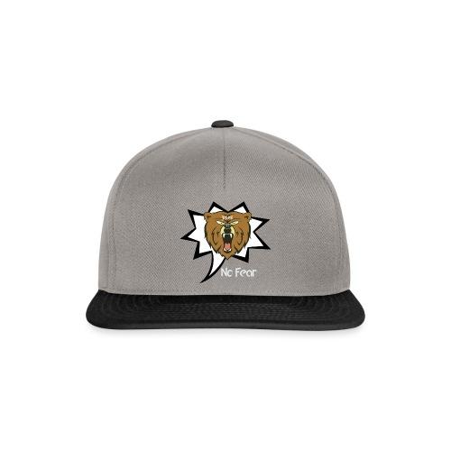 Bear Roar Logo - Snapback Cap