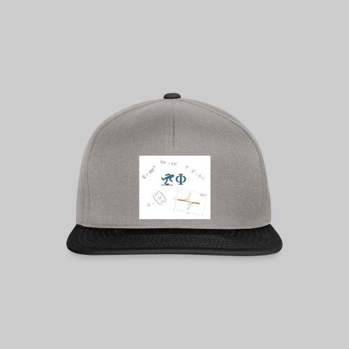 Der Freilaufende Physiker - NUR LOGO - Snapback Cap