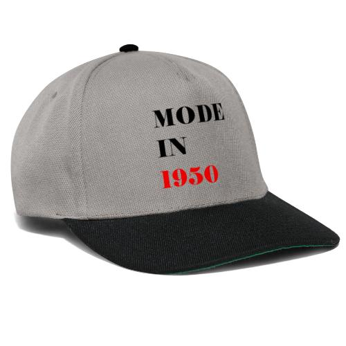 MODE IN 150 - Snapback Cap