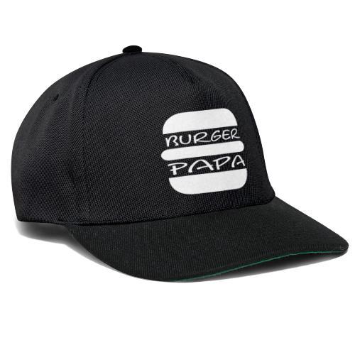 Burger Papa - Er macht einfach die besten Burger - Snapback Cap