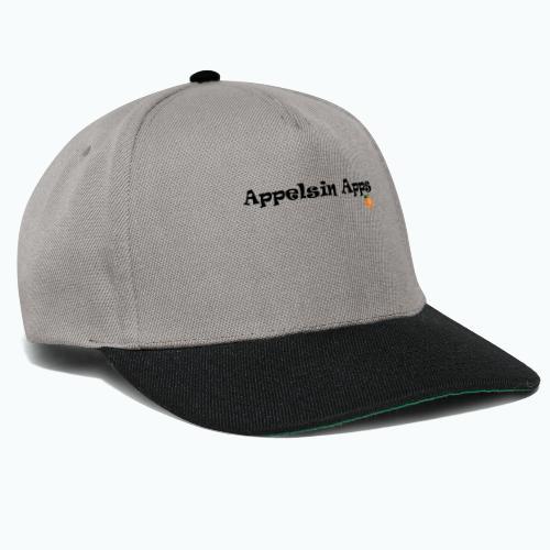 Appelsin Logo - Snapbackkeps