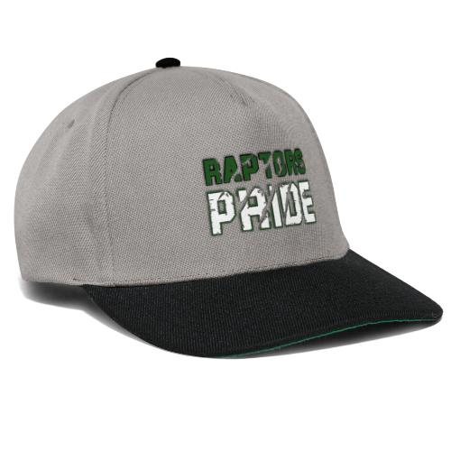 Raptors Pride - grün/weiß - Snapback Cap