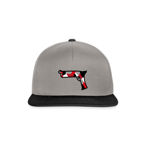strijdR pistol polo white - Snapback cap