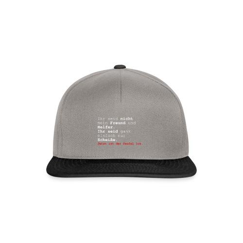 teufel2 - Snapback Cap